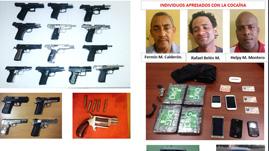 Inteligencia militar incauta armas y drogas en rd for Porte y tenencia de armas de fuego en republica dominicana